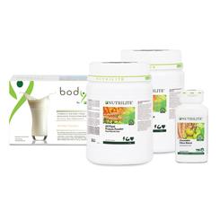 Bộ Bodykey Dễ Dàng 1 (TP BVSK Nutrilite Protein Thực Vật - Nutrilite All Plant Protein Powder, TPBS BodyKey By Nutrilite - Hương Vani, TP BVSK Nutrilite Chewable Fibre Blend)