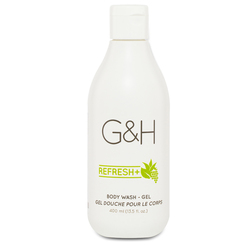 G&H REFRESH+  Sữa tắm mang lại sự tươi mới cho làn da