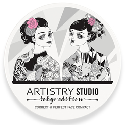 Kem nền Artistry Studio Tokyo Edition Correct & Perfect Face Compact