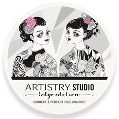Kem nền Artistry Studio Tokyo Edition Correct & Perfect Face Compact