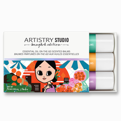 Tinh dầu thơm ARTISTRY STUDIO Bangkok Edition Essential Oil On-the-Go Scented Balms